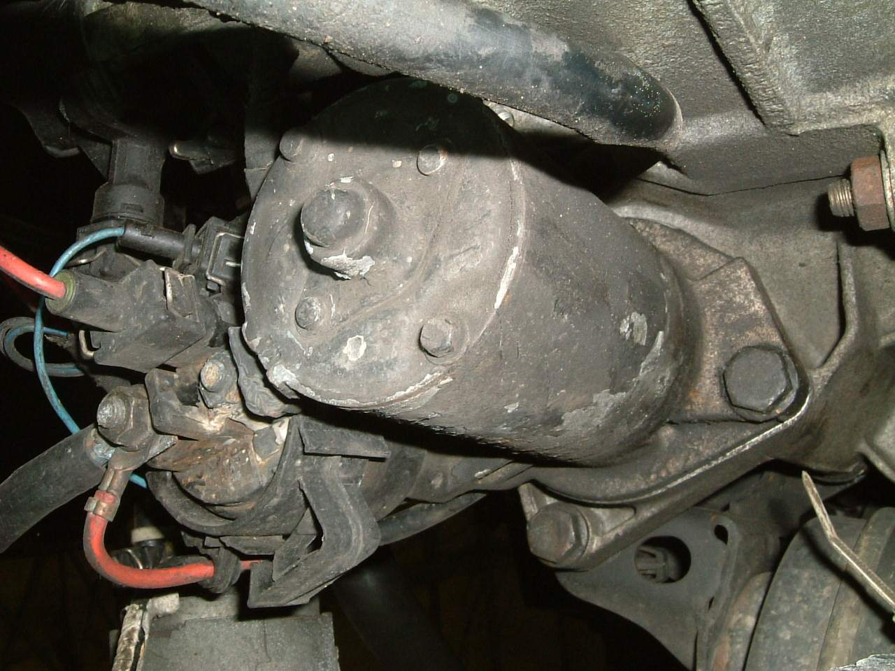 Mercedes C Alternator Replacement