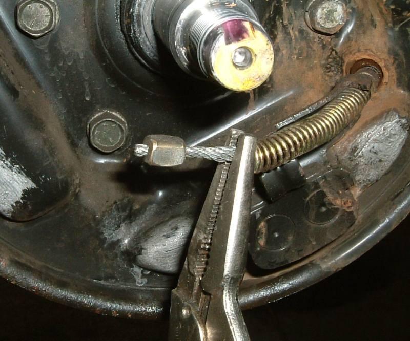 autoreparaturanleitungen an der bremse und bremsanlage!