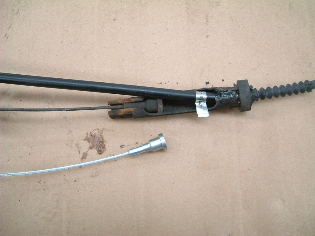 reparaturanleitungen der handbremse, feststellbremse, bremsseile!