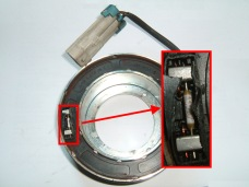Delphi Klimakompressor OPEL ASTRA ZAFIRA Magnetspule f